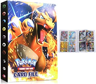 UHIPPO Albums Binder Compatible with Pokemon Card, Trading Card Album, Holder Binder Compatible with Pokemon Card, Card Pr...
