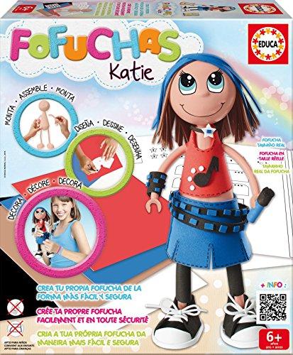 Educa Borrás Fofuchas - Katie Pop, Juego Creativo 16113