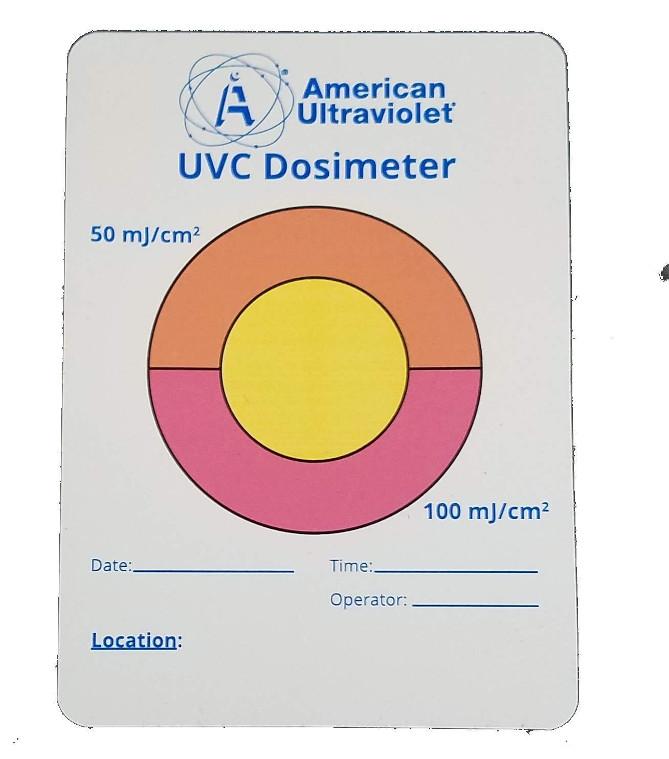 Generic Hospital Grade UVC Test Card