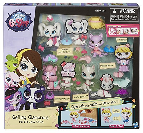 Littlest Pet Shop Getting Glamorous Pet Styling Pack (Discontinued by manufacturer)