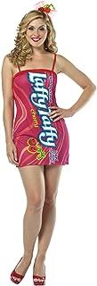 Rasta Imposta Womens Comical Cherry Laffy Taffy Tube Adults Halloween Costume
