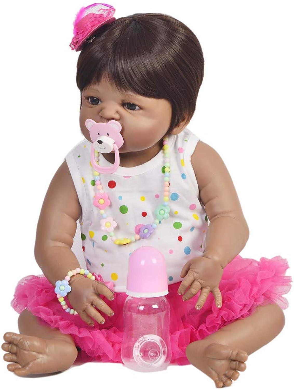 RENYAYA 23 Reborn Baby Dolls Soft Silikon Vinyl lebensechte Baby Doll Boy und Girl Toys Reborn Dolls Kinder Touch Playmate Xmas Geburtstagsgeschenk