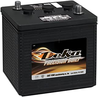 Deka 901MF Heavy-Duty Commercial 6Volt Battery (Group 1) Made in USA