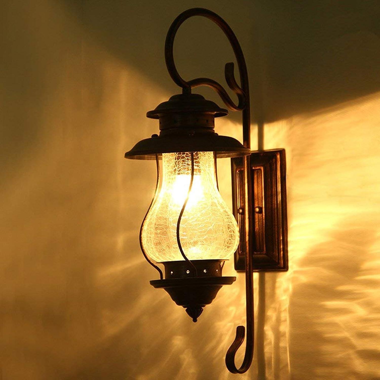 WW Eisen Wandleuchte Europäischen Stil Retro Wohnzimmer Wohnzimmer Wohnzimmer Nordic Industrial Wind Wandleuchte Schlafzimmer Nachttischlampe Kreative Lampen B078MNSNNW | Hervorragende Eigenschaften  72b38b