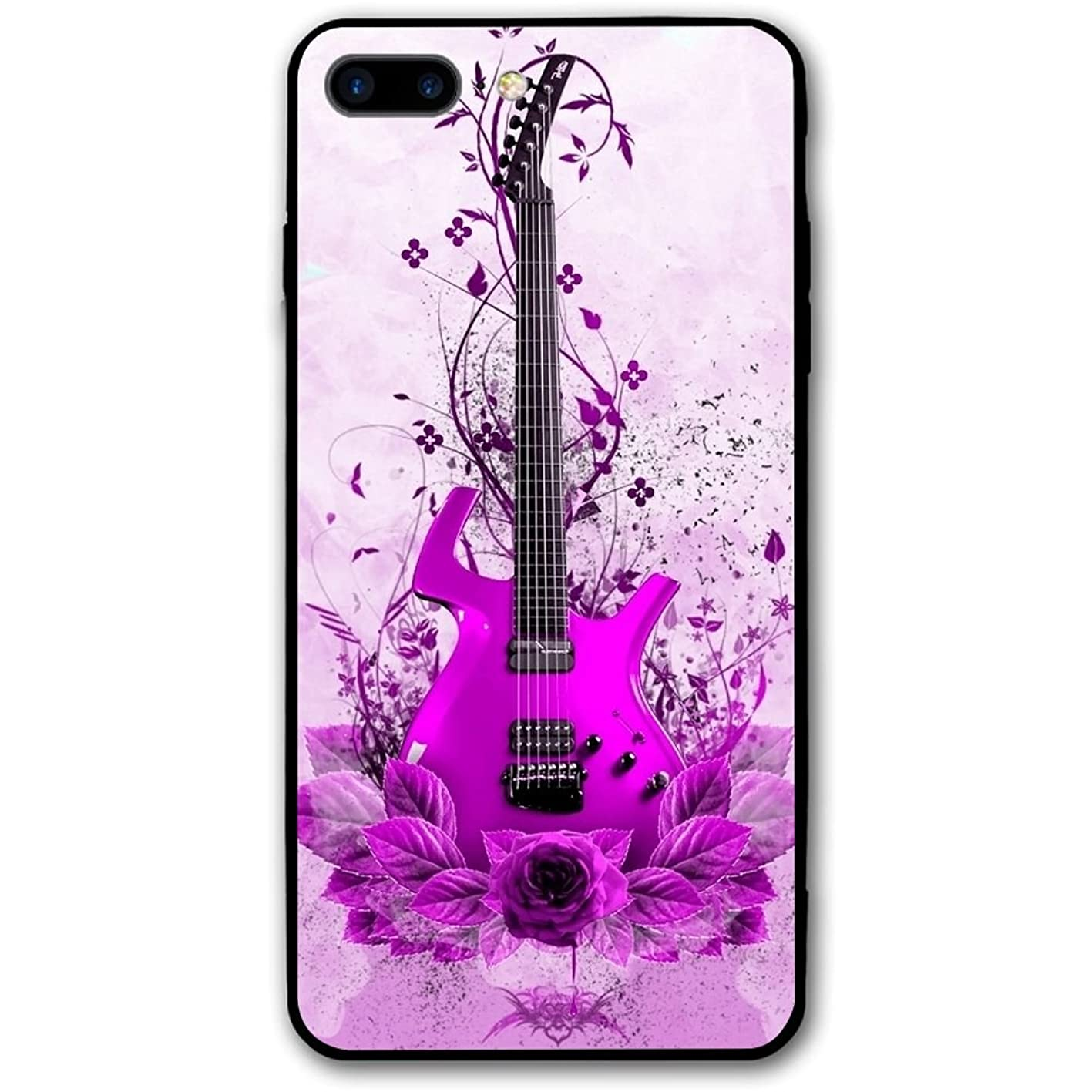 5.5Inch iPhone 8 Plus Case Musical Instruments Guitar Anti-Scratch Shock Proof Hard PC Protective Case Cover jgkasfbuffw279