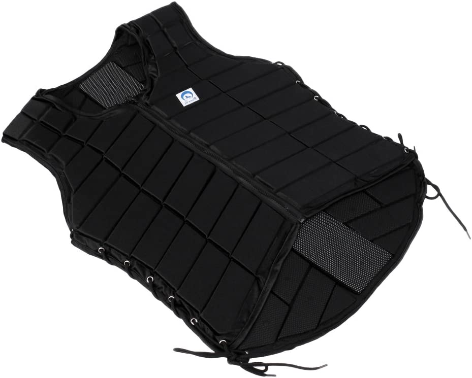 Flameer Professional Black Horse Riding San Francisco Mall Eq sold out Protector Body Safety
