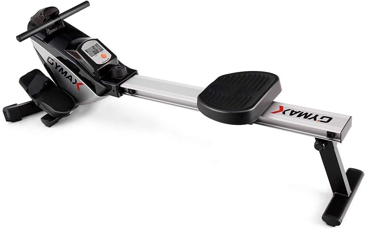 Goplus Folding Rowing Machine Magnetic Res Adjustable Baltimore Mall with Many popular brands Rower
