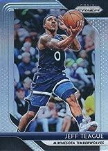 2018-19 Panini Prizm SILVER Refractor #57 Jeff Teague Minnesota Timberwolves Official NBA Basketball Trading Card