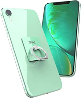 AAUXX iRing Cell Phone Ring Holder and Finger Grip Ring Accessory. Ring Stand Compatible with iPhone, Samsung, Other Android Smartphones and Tablets. (Vanilla Mint)