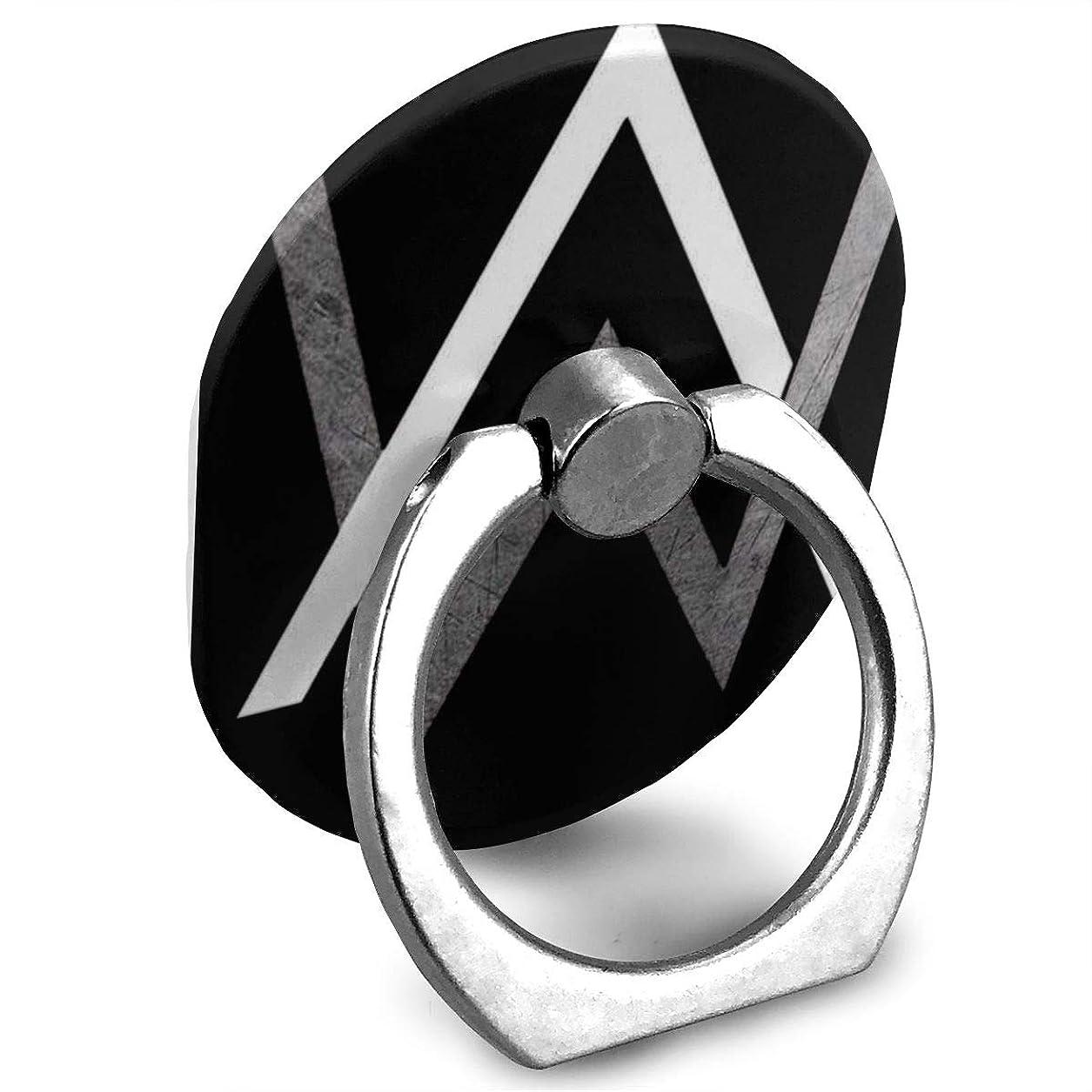 閲覧する頑固なその結果Alan Walker Logo\nアランウォーカー プリント リングホルダー ホールドリング 楕円 スタンド機能 落下防止 360度回転 IPhone/Android各種他対応