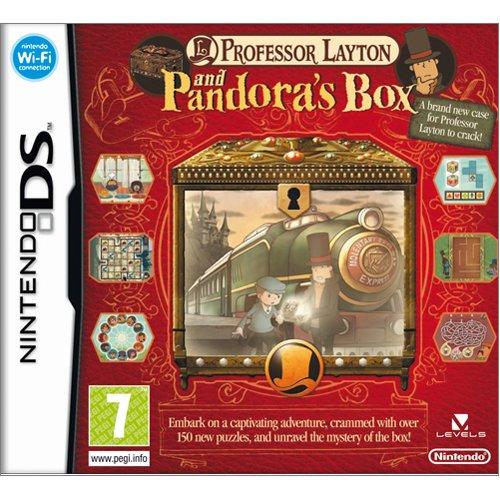 Professor Layton Pandoras box UK DS Lite DSi Game New