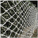 6 Mm * 8 Cm Hamaca Decorativa Blanca Columpio 2 * 4 M Protección De Seguridad ROTE RED Cuerda Trenzada Material De La Cuerda Balcón Escalera Barandilla Red Seguridad Interior Y E(Size:2*10m(7*33ft))