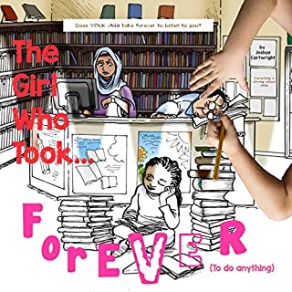 The Girl Who Took Forever audiobook cover art