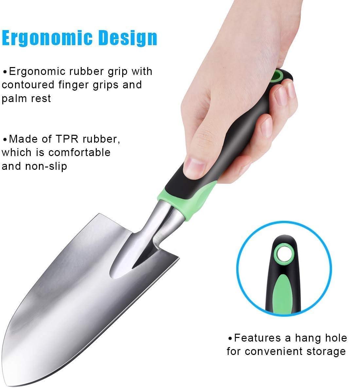 ZUZUAN Garden Tool Ergonomic Design Details