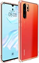 UNBREAKcable Huawei P30 Pro Case -Crystal Clear [Shock Absorption, Anti-yellowing] P30 Pro Cover-Hybrid Soft TPU Hard PC Back Cover Phone Protective Case Cover for Huawei P30 Pro - Transparent