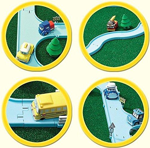 ACADEMY Robocar Poli Diecast Track Play Set