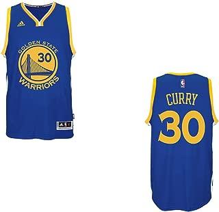 adidas Stephen Curry Men's Blue Golden State Warriors Swingman Jersey