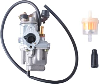 Carburetor for Suzuki JR50 1984-2006 Dirt Pit Bike, LT-A50 Carburetor 2002-2005 Quadrunner ATV, LT50 Carburetor 1984-1987 ATV Quad Carb with Fuel Filter Replace 13200-43F00, 13200-04431, 13200-04430