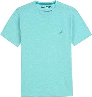 Nautica Boys' Short Sleeve Solid Crew-Neck T-Shirt