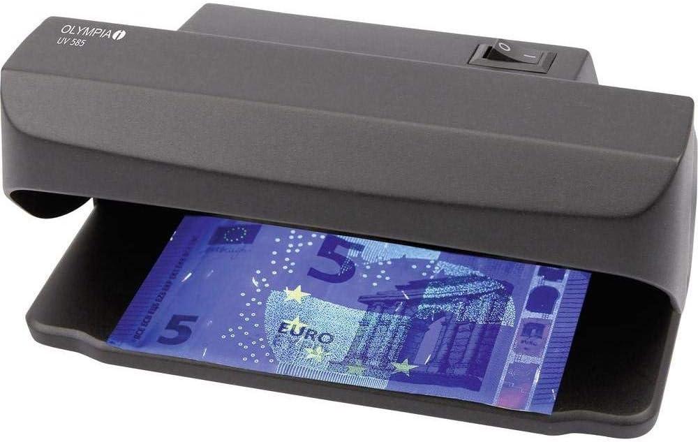 Olympia UV 585 - Lámpara UV para la prueba de autenticidad del dinero