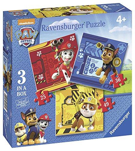 Ravensburger - Puzzle Progressive, Paw Patrol (07057)