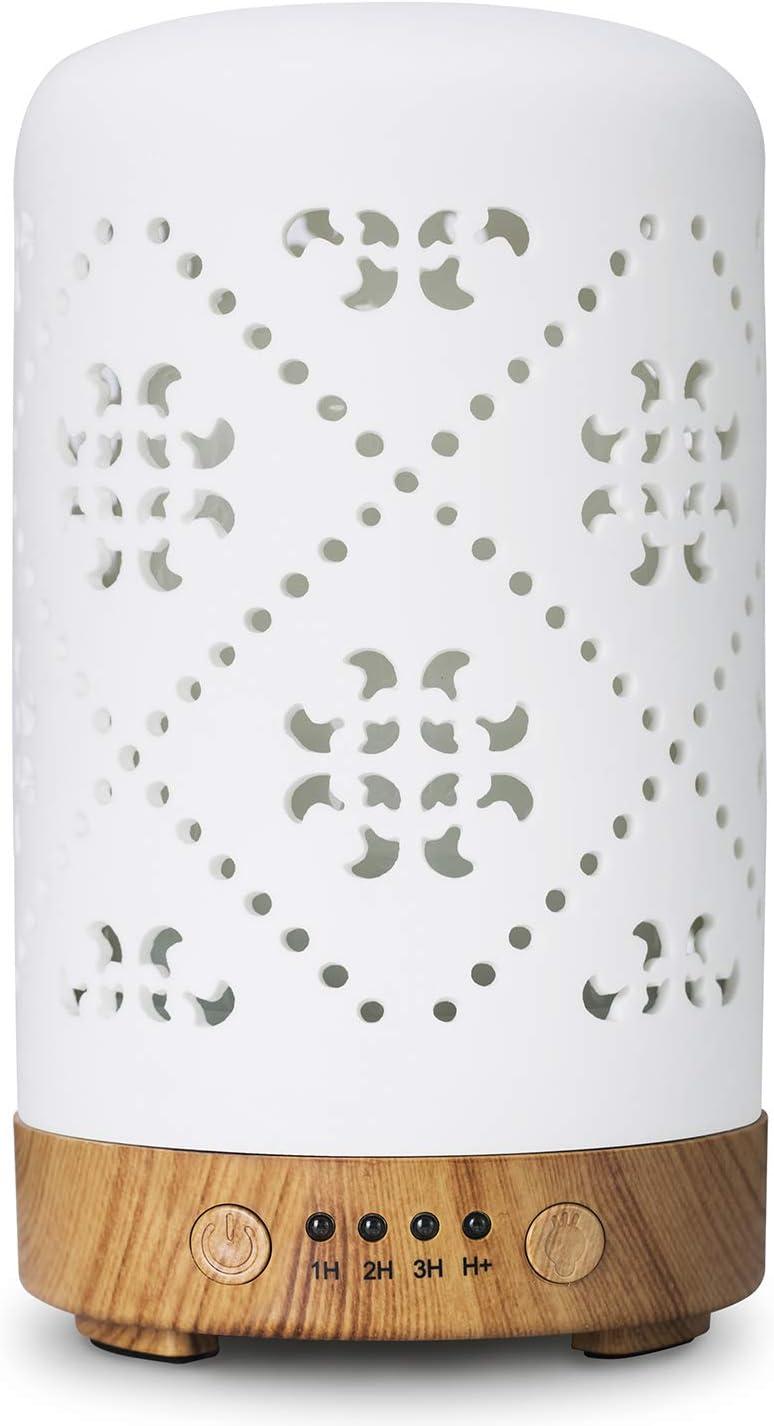 Essential Oil Sales Diffuser 1 year warranty Ceramic 100ml for Super Diffusers Quiet