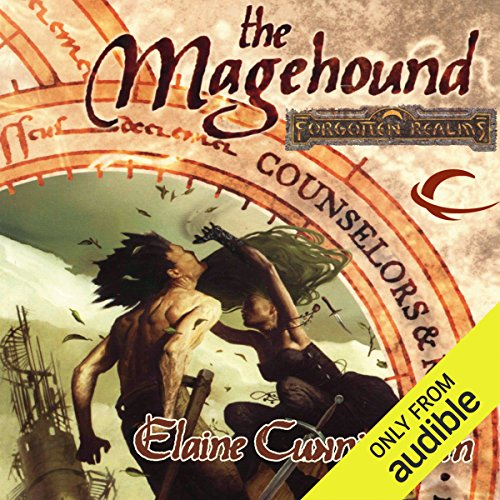 The Magehound audiobook cover art