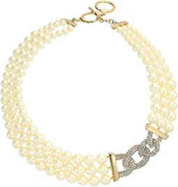 """17"""" Pearl Drama Necklace"""