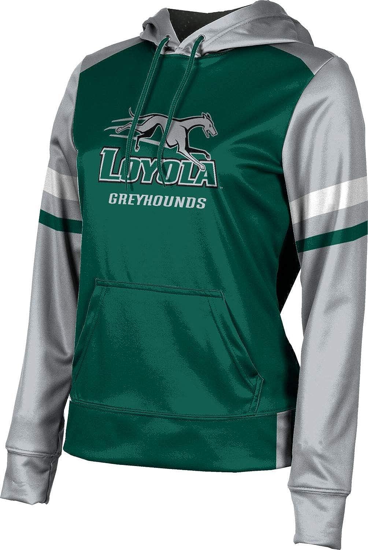 ProSphere Loyola University Maryland Girls' Pullover Hoodie, School Spirit Sweatshirt (Old School)