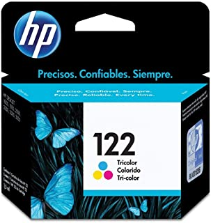 HP 122 Tri-Colour Ink Cartridge With Vibrant Colours And Shades - Cyan, Magenta, Yellow
