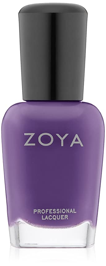 一般化する蜜奨励ZOYA ネイルカラー ZP556 MIRA ミラ 15ml クリーム パープル 爪にやさしいネイルラッカーマニキュア