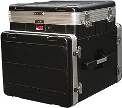 Gator Cases Lightweight ATA Molded Console Rack Case; 10U Pop-Up Top and 8U Side (GRC-10X8 PU)