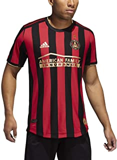 adidas Atlanta United FC Authentic Home Jersey - Men's Soccer M Black/Victory Red