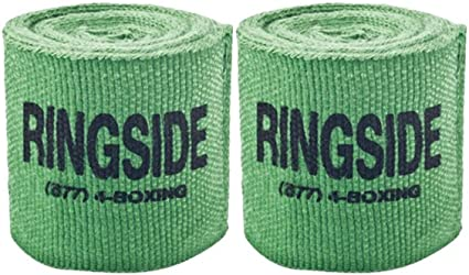 """NEW RINGSIDE Mexican Style SMALL Boxing MMA Handwraps Hand Wrap Wraps 120/""""// PINK"""