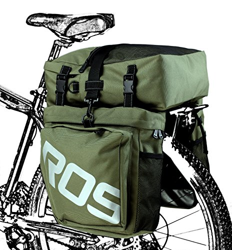 Roswheel 3-In-1 Expedition Touring Cam Pannier