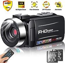 Camcorder Video Camera Full HD 1080p 30FPS Camcorder...