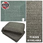 MP Essentials Weaved Supreme Rot Weatherproof Ground Covering Groundsheet Tent & Awning Carpet - GREEN & GREY