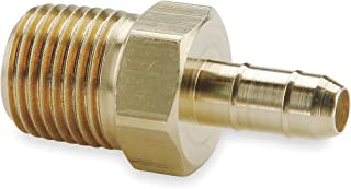 Parker Hannifin 20-4-5//32 Dubl-Barb Brass Body Plug Adapter Fitting 5//32 Barb Tube x 1//4 Barb Tube
