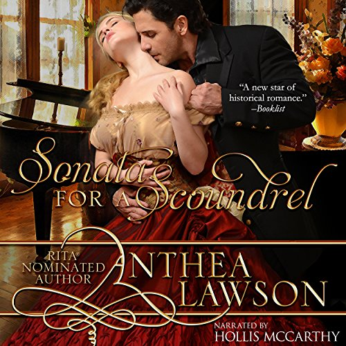 Sonata for a Scoundrel audiobook cover art