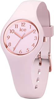 Ice-Watch - Ice Glam Pastel Pink Lady - Montre Rose pour Femme avec Bracelet en Silicone - 015346 (Extra Small)