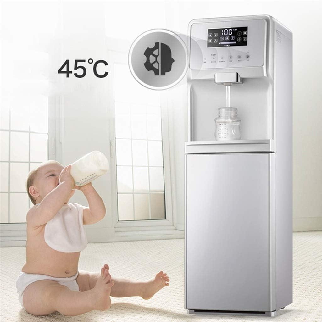 Vertical Multifunctional Smart Tea Bar Machine Adjustable Thermostat Bottom Loading Water Cooler Dispenser Rapid Heating Freestanding Water Dispenser W//Child Safety Lock For Home /& Office