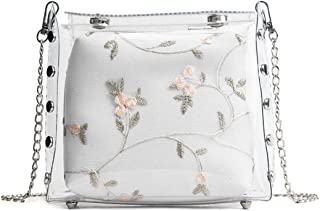 Bageek Shoulder Bag Multipurpose Crossbody Bag Shopping Purse with Inner Bag