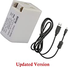 Nixxell EH-68P AC Adapter and UC-E6 Cable for Nikon Coolpix P100, S70, S80, S3000, S4000, S6000, S8000, S8100