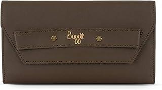 Baggit Spring-Summer 2020 Faux Leather Women's 3 Fold Wallet (Beige) (Lj Cleaty)