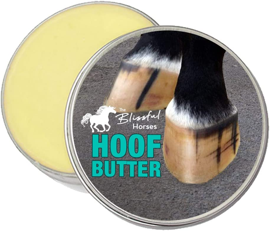 The Blissful Horses Hoof New Year-end gift Orleans Mall Butter All Your for Natural Support Hor