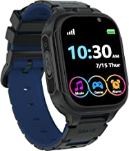 "Kids Smart Watch Boys Girls with 14 Games Dual Camera 1.44"" Touch Screen Music Player Video Recorder 12/24 hr Pedometer Al..."