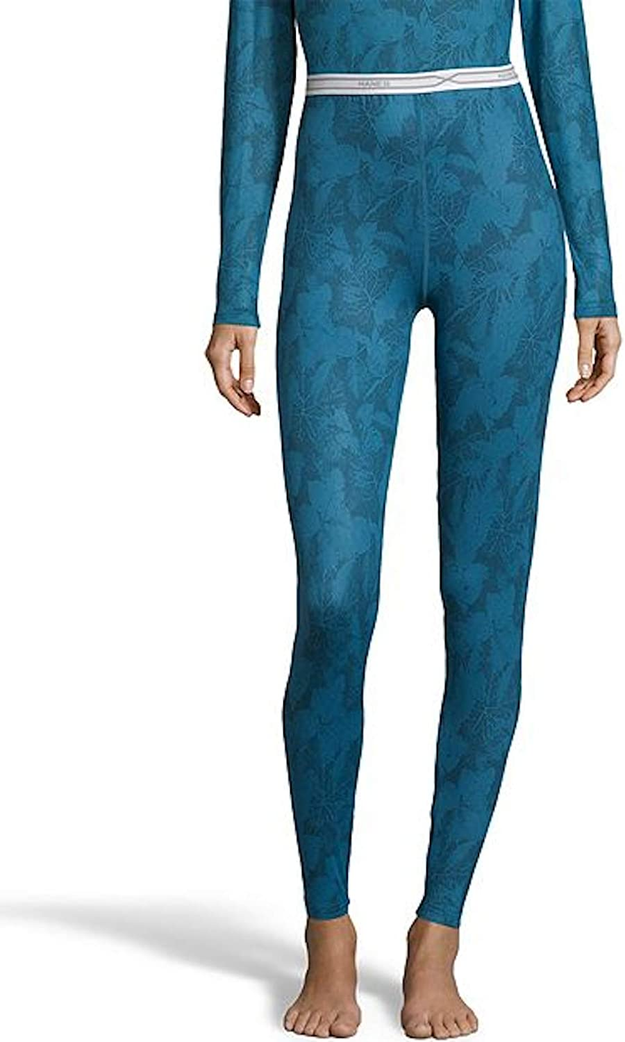 Hanes Womens 4-Way Stretch Thermal Crew Pant, Multiple Prints & Colors Available at  Women's Clothing store