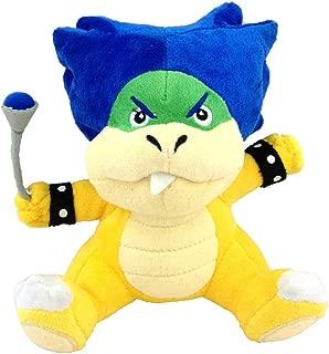 "Super Mario Bros Ludwig von Koopa Plush Toy Kooky von Koopalings Leader Stuffed Animal 7.5"""