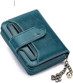 De Li Sheng Porte-Monnaie Peanut Pattern Classic Buckle Coin Purses Leather Lock Change Wallets