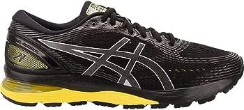 ASICS GEL-Nimbus 21 Mens Running Shoe (Black/Yellow)